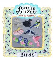 Birds set of 6 Iron-on Patches