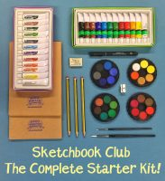 Sketchbook Club Press release