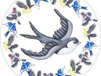 Bird Circular Card