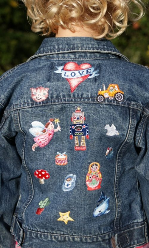 Russian Doll pair of Iron-on Patches