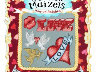 Love set of 5 Iron-on Patches