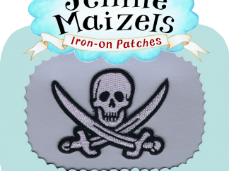 Pirate Flag Iron-on Patch