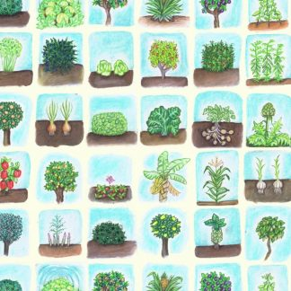 Roots & Trees Wrapping Paper