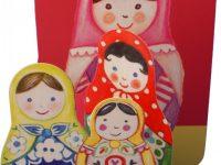 Russian Doll Pop-up Card