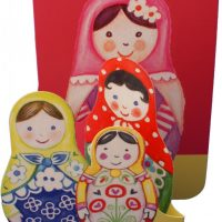 Russian Doll Pop-up Card