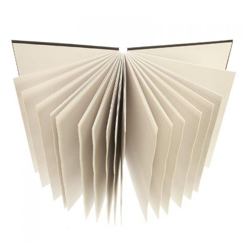concertina-sketchbook with case